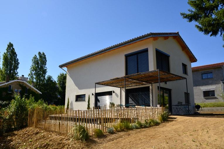 Un des objectifs du chantier de cette maison passive était de faire en sorte que la maison soit parfaitement étanche et ventilée. [©Soprema]