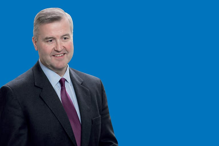 Albert Manifold, directeur exécutif du groupe CRH. [©CRH]
