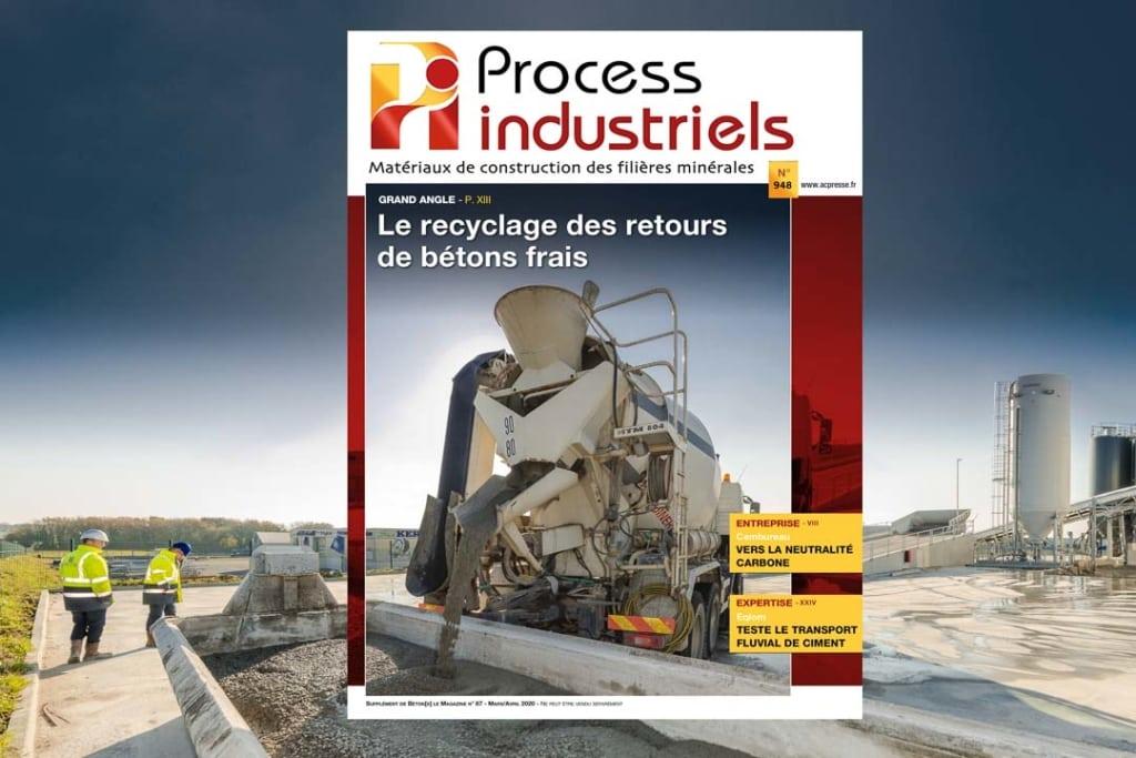 La revue CBPC devient Process industriels pour compléter Béton[s] le Magazine