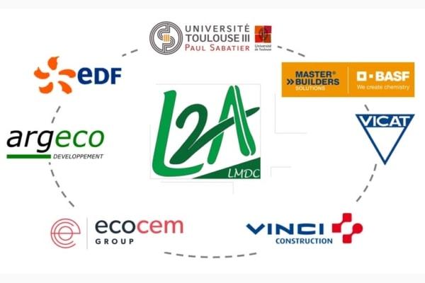 Le projet L2A réunit six partenaires industriels et un laboratoire.
