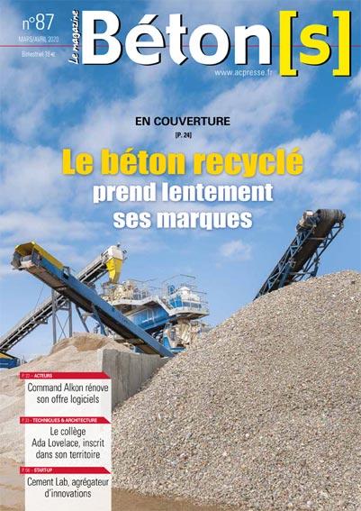 Bétons le magazine 87- Bétons recyclés