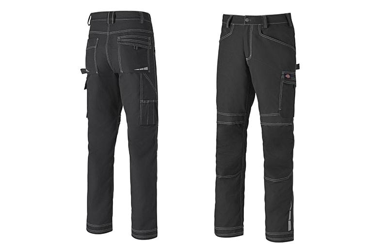Le pantalon de travail Eisenhower CVC Extrême a été conçu pour répondre aux besoins des professionnels toujours en mouvement. [©Dickies Workwear]