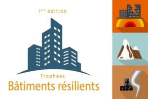 La MRN, l'AQC et Construction21 ouvrent les Trophées bâtiments résilients à toute personne physique ou morale ayant les compétences de représenter des bâtiments exposés à au moins un aléa naturel et climatique. [©MRN/AQC/Construction21]