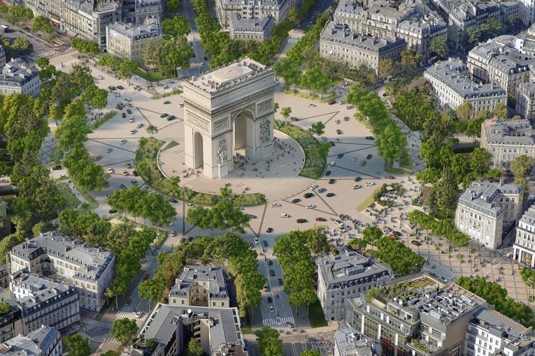 « Il faut plus de végétal, plus d'arbres, plus de fleurs pour que les petits oiseaux et les pollinisateurs reviennent à Paris », insiste le commissaire de l'exposition, Philippe Chiambaretta. [©PCA-STREAM]