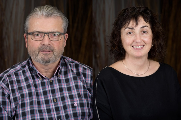 Philippe Queneau, directeur général d'Edycem, et Estelle Breillat, directrice qualité et développement. [©Edycem]