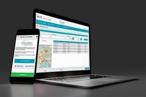 Logiciel Arcade Massia-Laboratoire et application Massia Labo Mobilité sur Android. [©Arcade]
