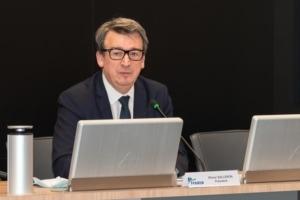 Olivier Salleron, nouveau président dans la Fédération française du bâtiment.