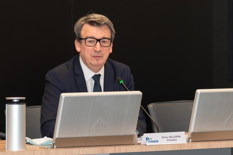 Olivier Salleron est le nouveau président dans la Fédération française du bâtiment. [©ACPresse]