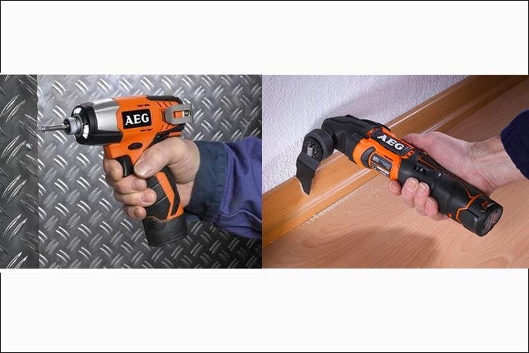 Deux nouveaux outils viennent s'inscrire au catalogue d'AEG. La visseuse pour plaquiste BTS 12 CLI-202C et le Multitool BMT 12 CLI-152B, tout deux compatibles avec le concept Pro 12 V d'AEG.