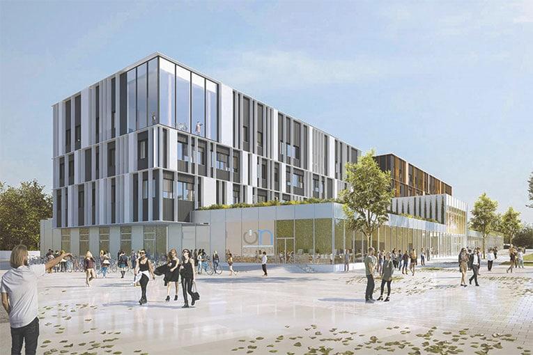 Les étudiants de l'ESTP Dijon s'installeront sur le campus universitaire en 2021.