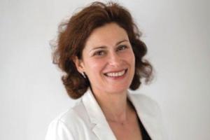 """Sylvie Lebreton est la présidente de l'association """"Unicem entreprises engagées""""."""