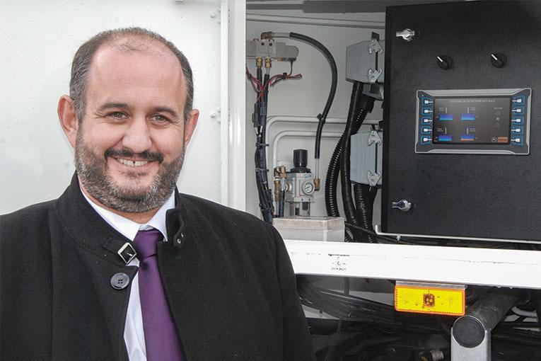 Nelson Morgado : « Notre partenaire coréen DY va monter notre Qualicontrol sur toutes ses machines exportées ».