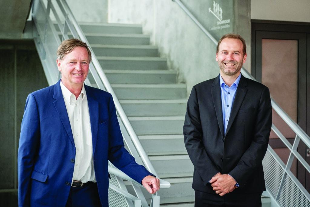 Rémi Lesage, président, et Ronan Blanchard, nouveau directeur général du groupe Rector Lesage.