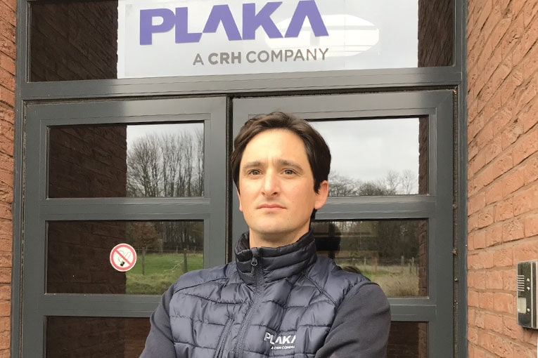 Guerric Becquart, directeur commercial de Plaka France.