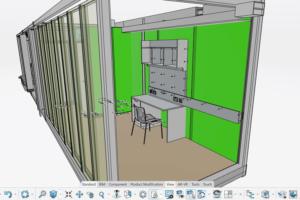 La plate-forme 3DExperience permet à Bouygues Construction de s'ancrer dans la conception de demain. [©Bouygues Construction]