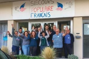 Les collaborateurs de Bouygues Bâtiment Nord-Est ont participé à la rénovation des locaux du Secours populaire de Nancy.