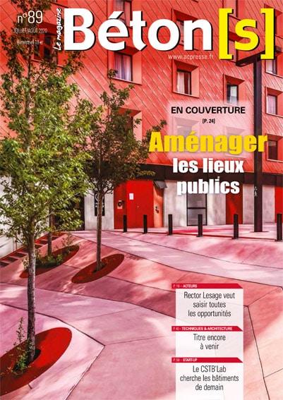Couverture Béton[s] le Magazine 89