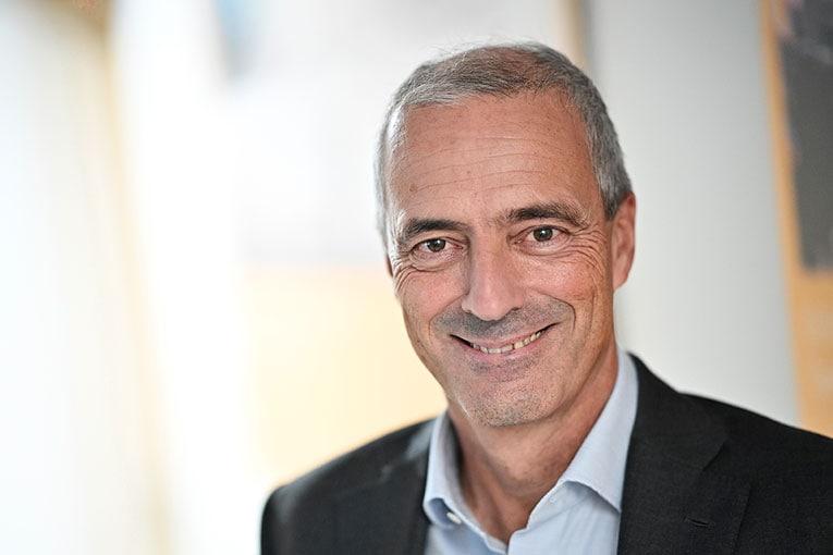 Portrait de Pascal Malafosse, directeur général de Sika France.
