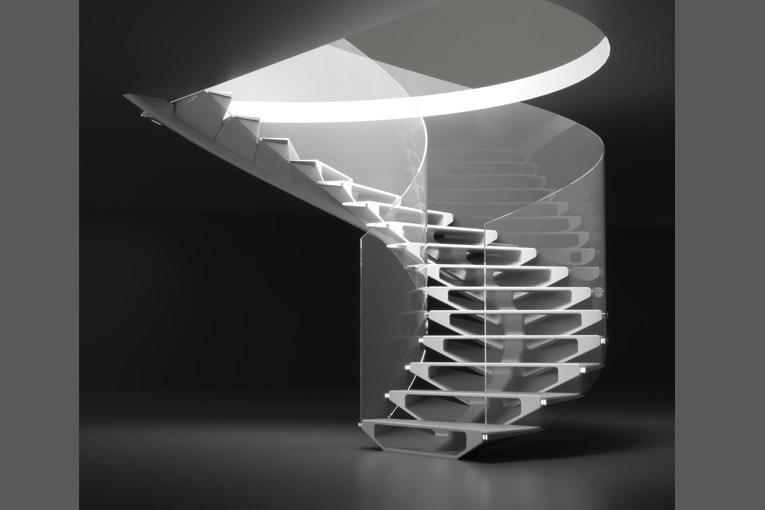 """Le 1er prix des Stairs Design Awards a été décerné au projet """"Ascension verticale"""". [©PBM]"""