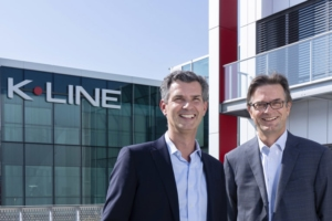 Bruno Léger, directeur général de Liébot, a annoncé la nomination d'Olivier de Longeaux au poste de directeur général de K-Line, filiale du groupe. [©K-Line]