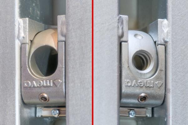 Le système Mammut XT permet un ancrage 1 face ou une fixation 2 faces des tiges traversantes. [©ACPresse]
