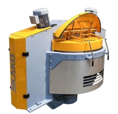 Le Rotoconix est le malaxeur haute performance de Skako Concrete. [©Skako Concrete]