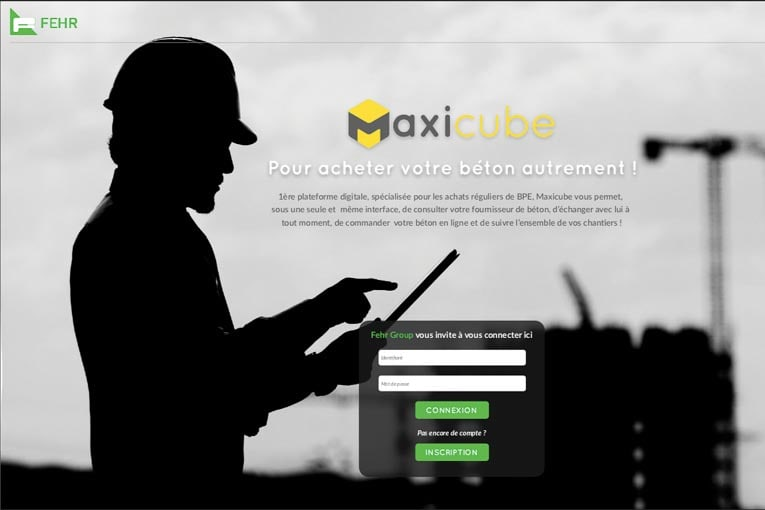 MaxiCube sera bêta-testé fin 2019 par le groupe Fehr. [©Béton Direct]