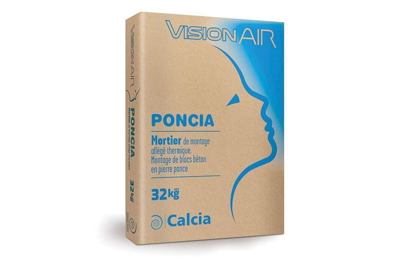 Sac du nouveau ciment bas carbone VisionAir de Ciments Calcia. [©HeidelbergCement]