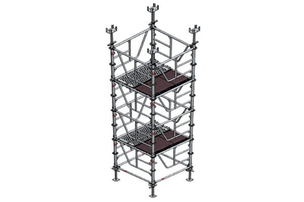 La tour HD 320 d'Altrad Coffrage & Etaiement est une des références sur les chantiers en France. [©Altrad]