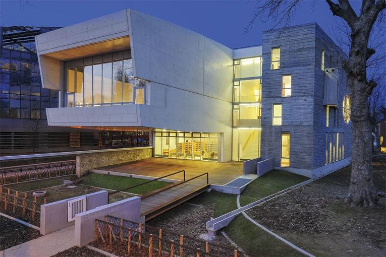 Centre départemental de documentation et futur musée de la résistance nationale, à Champigny-sur-Marne (94). [©Lelli Architectes]