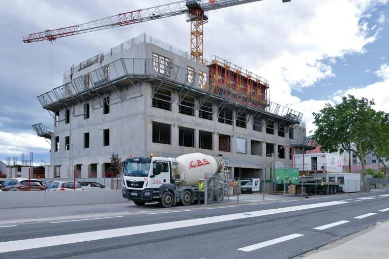Le centre hospitalier de Thuir (66) fait partie des chantiers pilotes de l'offre Galaxim. [©Willy Berré]