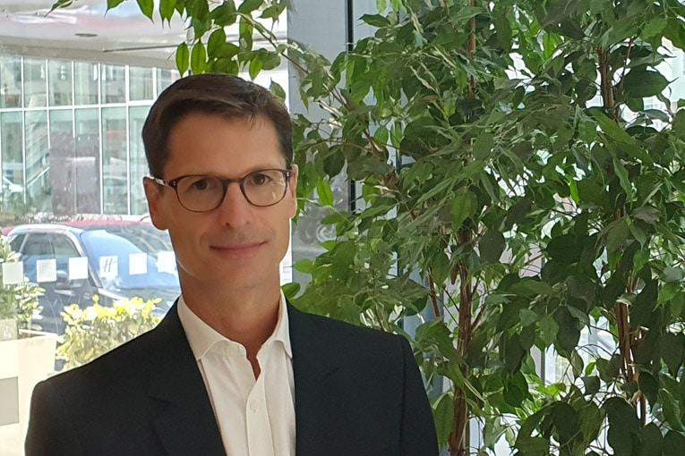 Directeur du développement durable et des affaires publiques de Cemex France, Louis Natter a été élu président de l'association Unicem entreprises engagées. [©Unicem]