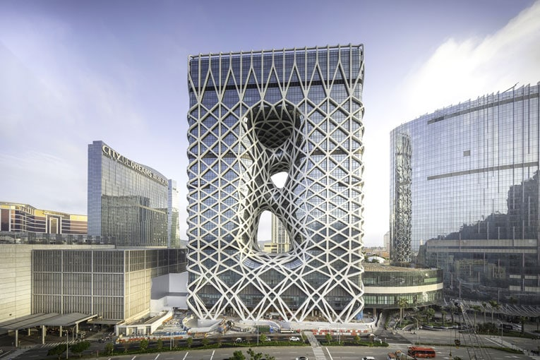 Léon Grosse vient de reprendre Kytoec. City of Dreams, Macao, en Chine. [©Ivan Dupont]