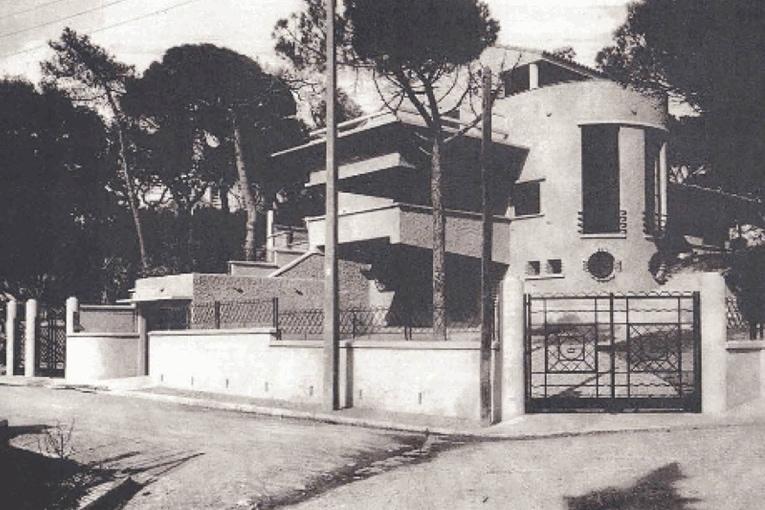 L'audacieuse architecture de la villa Romée, années 1930 [©Maison de l'Architecture]