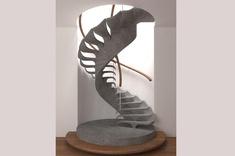 """Le prix du public des Stairs Design Awards a été décerné au projet """"Fossil"""". [©PBM]"""