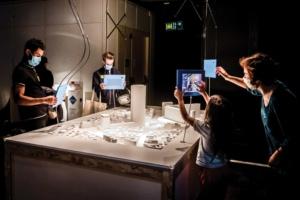 """L'exposition """"Giga tours et méga ponts, format """"XXHL"""" est interactive, à destination de toute la famille. Ludique et instructif. [©A. Robin-EPPDCSI]"""