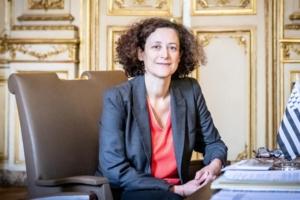 """Emmanuelle Wargon, ministre du Logement dévoile les grandes lignes du plan de relance économique pour la """"Construction""""."""