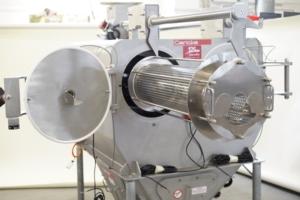 Le tamiseur centrifuge de Gericke. [©Gericke]