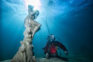 """""""La Graine et la Mer"""" Davide Galbait, dans toute sa splendeur sous les flots. [©Wallis/MSM]"""
