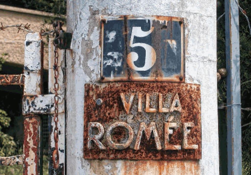 Devanture de la Villa Romée
