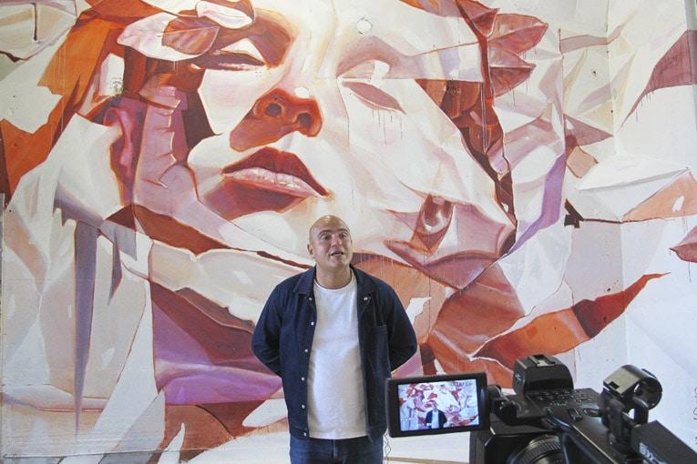« Pour cette occasion, Quai 36 a imaginé un lieu d'expériences artistiques urbaines à mi-chemin entre galerie et exposition. Ponctuées d'interventions artistiques immersives sur place. Ce déploiement pluriel se veut le miroir du paysage de l'art urbain aujourd'hui », explique Jonas Ramuz, président et fondateur de Quai 36.  [©ACPresse]