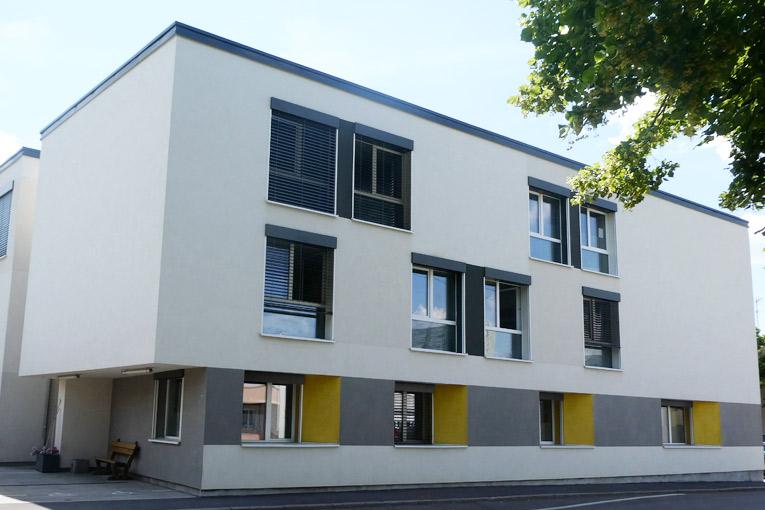 A Vandoeuvre-lès-Nancy (54), les résidences Myosotis et Solatium ont été labélisées par la Fédération Française de la Construction Passive.[©Schöck - Sébastien Dardard]
