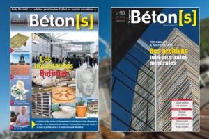 Quinze années séparent les couvertures du n° 1 et du n° 90 de Béton[s] le Magazine. [©ACPresse]