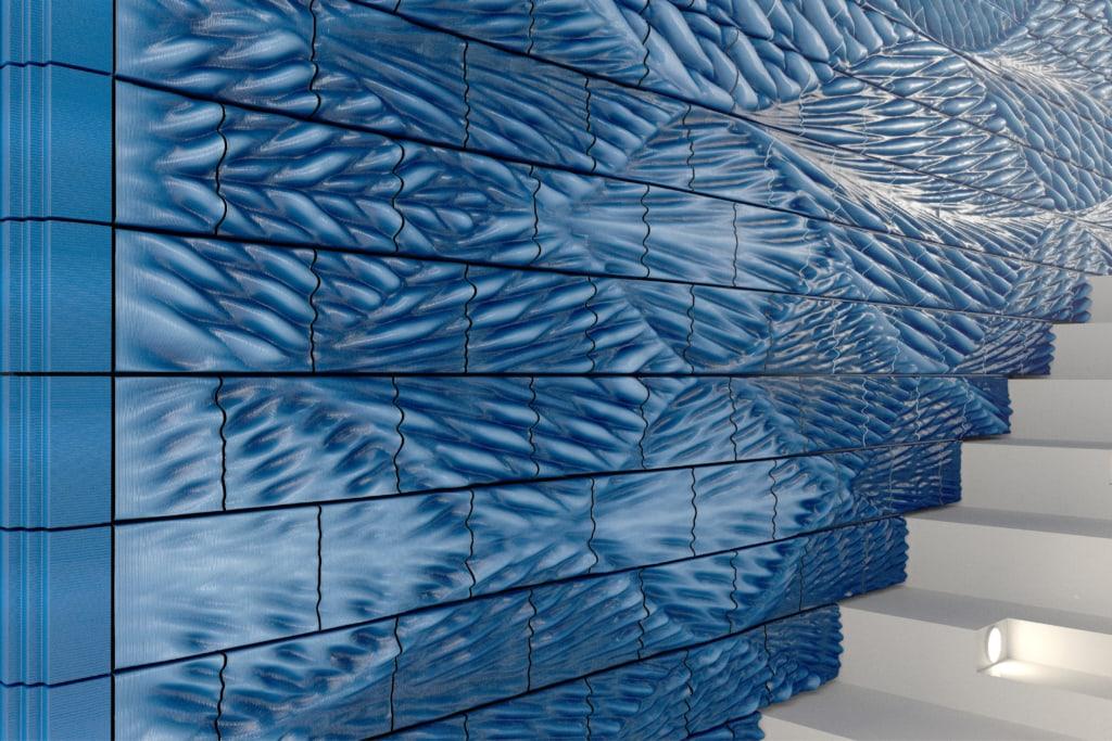 Cette voûte sera habillée par 4 000 tuiles de céramiques. [©Studio RAP]