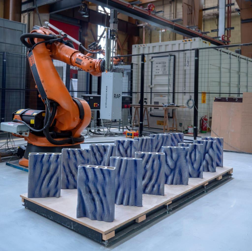 Le projet a été lancé en 2019 et des tests ont déjà été imprimés en 3D. [©Studio RAP]