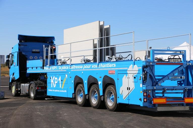 KP1 a signé un contrat exclusif sur 5 ans avec Hoffmann Green Cement Technologies. [©KP1]