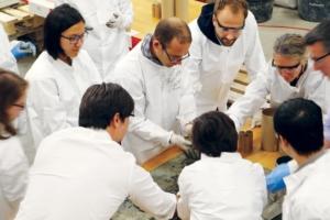 La R&D du groupe Cemex s'intéresse de près à la digitalisation de la fabrication. [©Cemex]