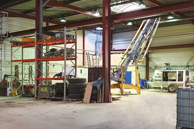 ACM Equipements a investi dans son propre entrepôt et siège social. [©ACM Equipements]