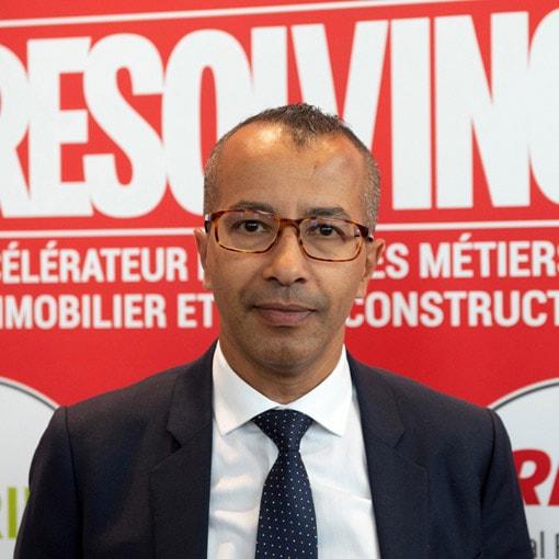 Hakim Fagoul, directeur France de Resolving, nous explique les modalités du contrat-contrat signé avec Paris-Ouest Construction. [©Resolving]