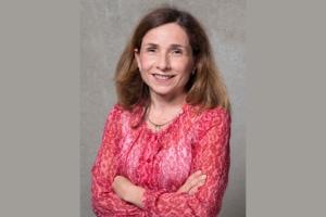 Portrait de Christine Gilliot, nommée directrice opérationnelle sols & revêtements. [©Raphaël Dautigny]
